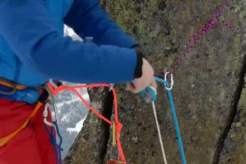 les noeuds de jonction École Escalade de rocher et escalade de glace | Roc et glace escalade
